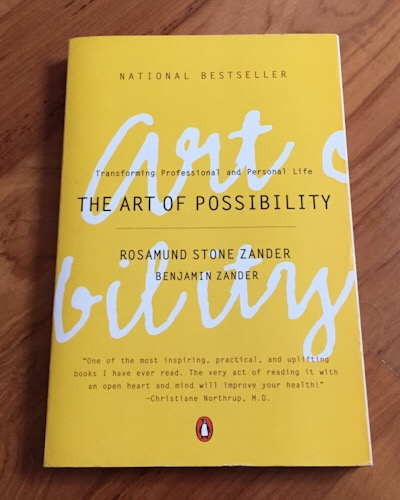 The Art of Possibility book review by Vanessa Turner