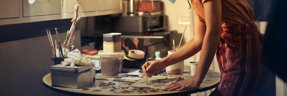 Don't Need A Studio - Mental Health Benefits of Creating Art