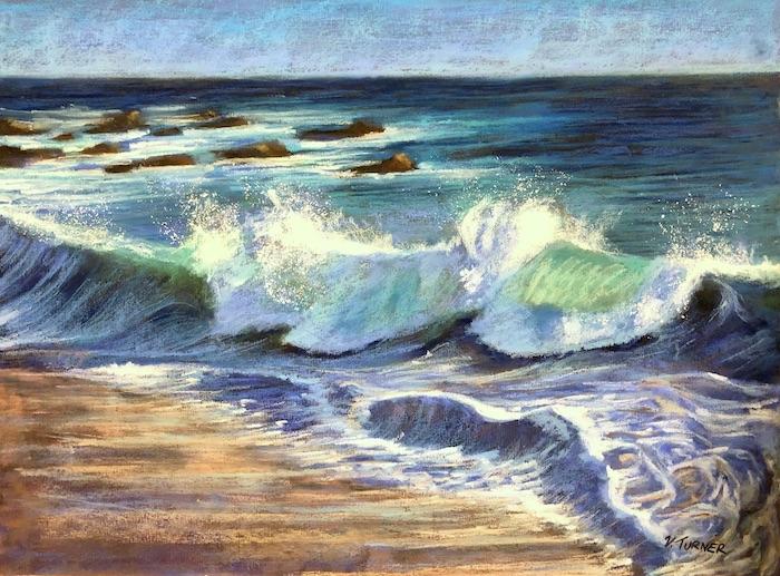 Wave Series Paintings