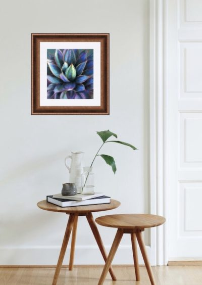 Agave Pastel Painting Setting