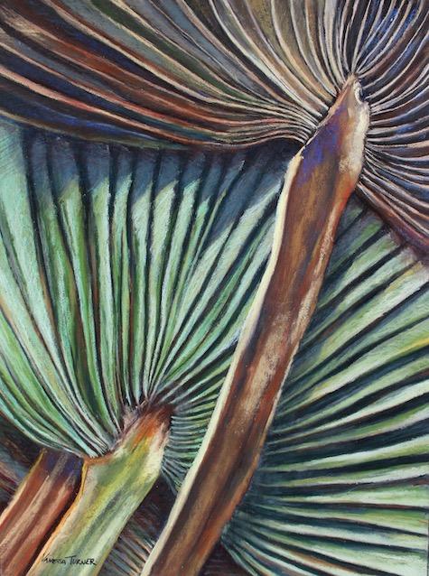 Bermuda Palm - Pastel Painting